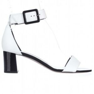 Women Kate Spade Melina Ankle Strap Sandals White